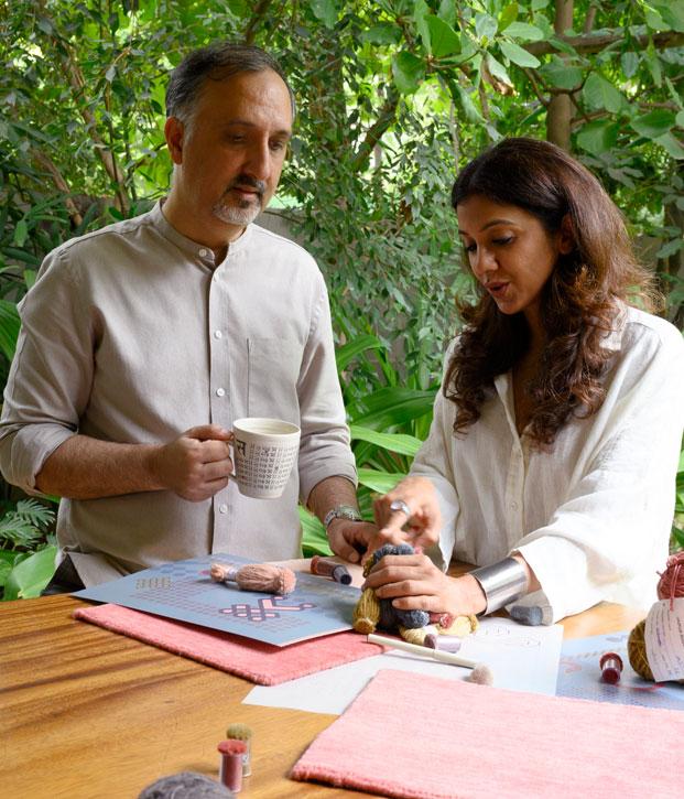 TANIA & SANDEEP KHOSLA - Designer Jaipur Rugs