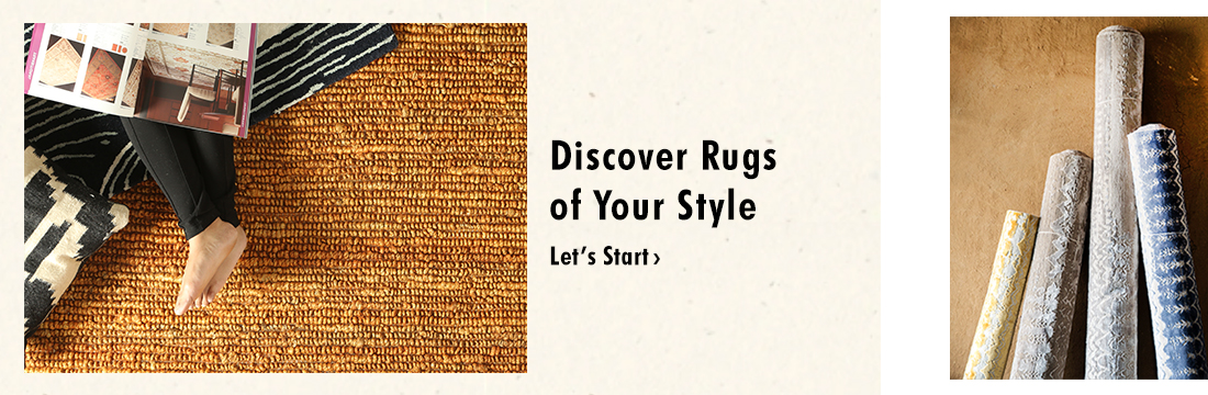 Discove your style of rugs