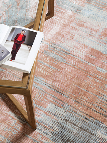 HTB- Unstring By Kavi- Hand-knotted Rug
