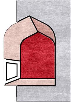 Jharokha handtufted rugs - HTB Alt- m