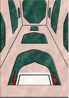 Harem handtufted rugs - HTB Alt- m