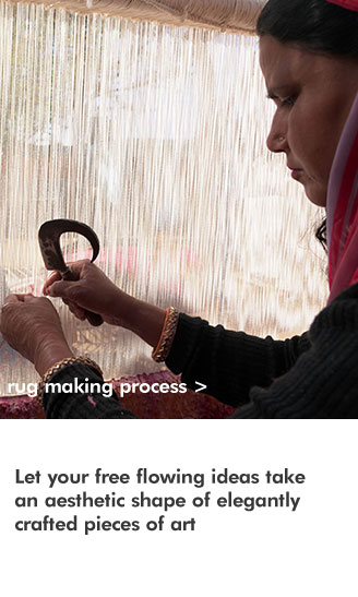 handmde rug making process