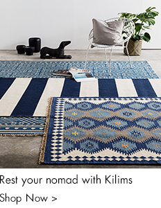 Rest your nomad with kilims