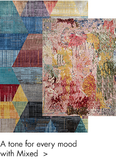 mixed color handmade rugs-m