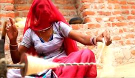 Spinning Happiness in Bikaner