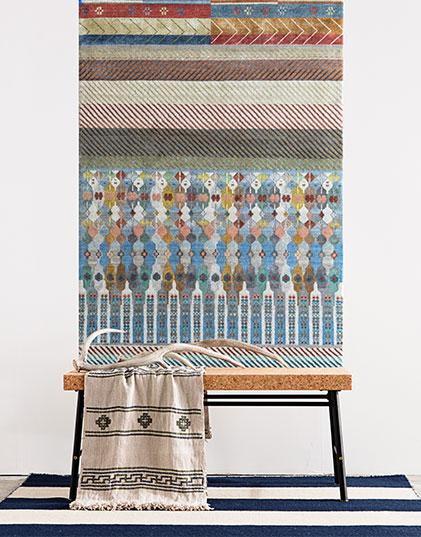 Wall Rug Modern Artistry