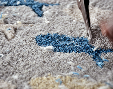 Gultarash in a rug