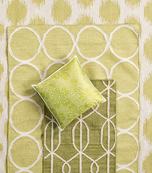 Yellow color rugs and gold color rugs