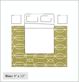 9x12 bedroom rug size