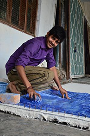 printing a handtufted rug