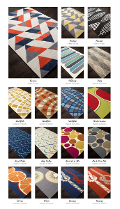 Grant Design Collaborative rugs